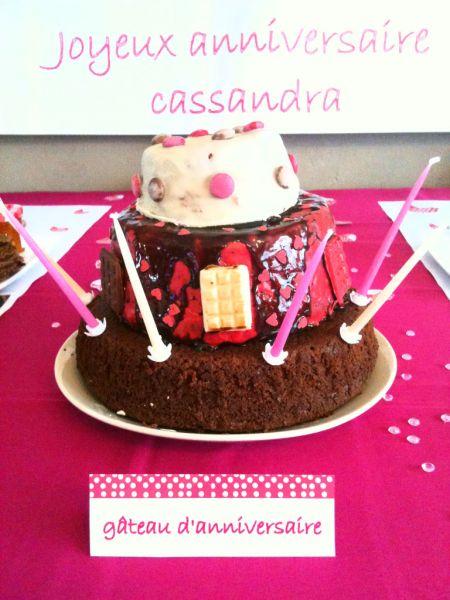 Goûter d'anniversaire pour les 6 ans de ma grenouille :))) « My lovely dream … by Sandra LS
